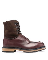 Tod's Lace Up Leather Boots