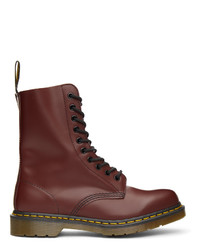 Dr. Martens Red 1490 Boots