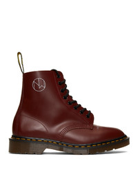 Undercover Red Dr Martens Edition 1460 Boots