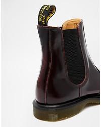d653ce0d490e2 Dr. Martens Dr Martens Kensington Flora Burgundy Chelsea Boots, $90 ...