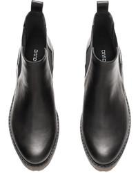 H\u0026M Platform Chelsea Boots Black Ladies