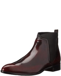 fd6c7c503fb Women's Burgundy Leather Chelsea Boots by Ted Baker | Women's ...