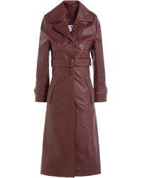 Leather coat medium 738845
