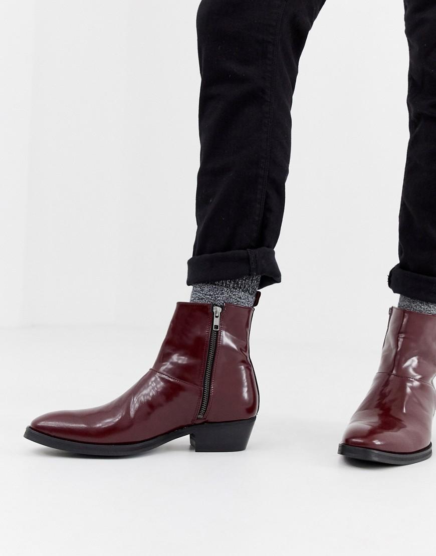 chelsea boots cuban heel