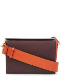 Marni Box Leather Cross Body Bag