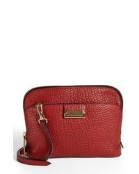 Burberry Harrogate Small Leather Crossbody Bag Military Red