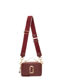 Marc Jacobs Burgundy The Sure Shot Bag