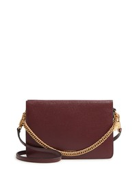 Givenchy Cross 3 Leather Crossbody Bag