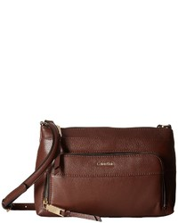Calvin Klein Key Item Pebble Multi Entry Crossbody Cross Body Handbags