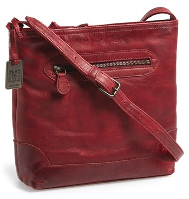 4b6df3f306 Frye Melissa Washed Leather Crossbody Bag