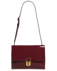 Tory Burch Patent Leather Convertible Shoulder Bag