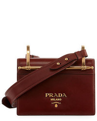 Prada Pionerre Small Flap Crossbody Bag