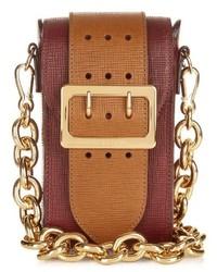 Burberry Prorsum The Belt Oblong Leather Cross Body Bag