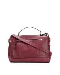 RED Valentino Red Large Smooth Tote Bag