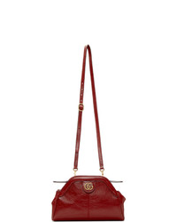 Gucci Red Linea Shoulder Bag