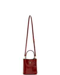 Prada Red Small Double Bag