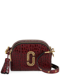 Marc Jacobs Shutter Small Crocodile Embossed Camera Bag