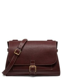 Mulberry Small Buckle Leather Shoulder Bag Black
