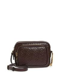 Burberry Small Tb Monogram Leather Camera Bag