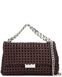 Stella McCartney Becks Weaved Shoulder Bag