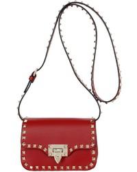 Valentino Mini Rockstud Leather Shoulder Bag