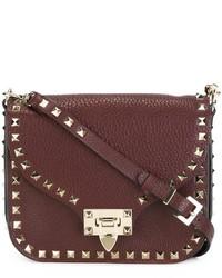 Valentino Rockstud Flip Lock Shoulder Bag