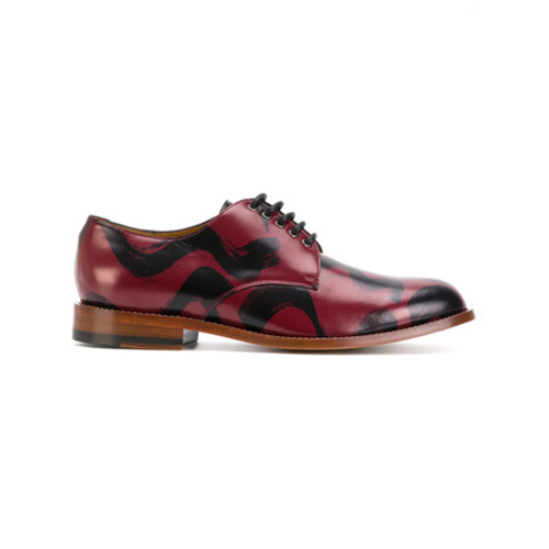 Vivienne Westwood MAN Brush Stroke Derby Shoes