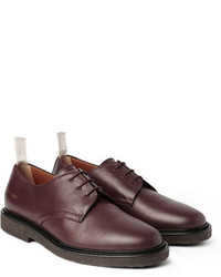 15f199861485 Men s Burgundy Leather Derby Shoes by Common Projects