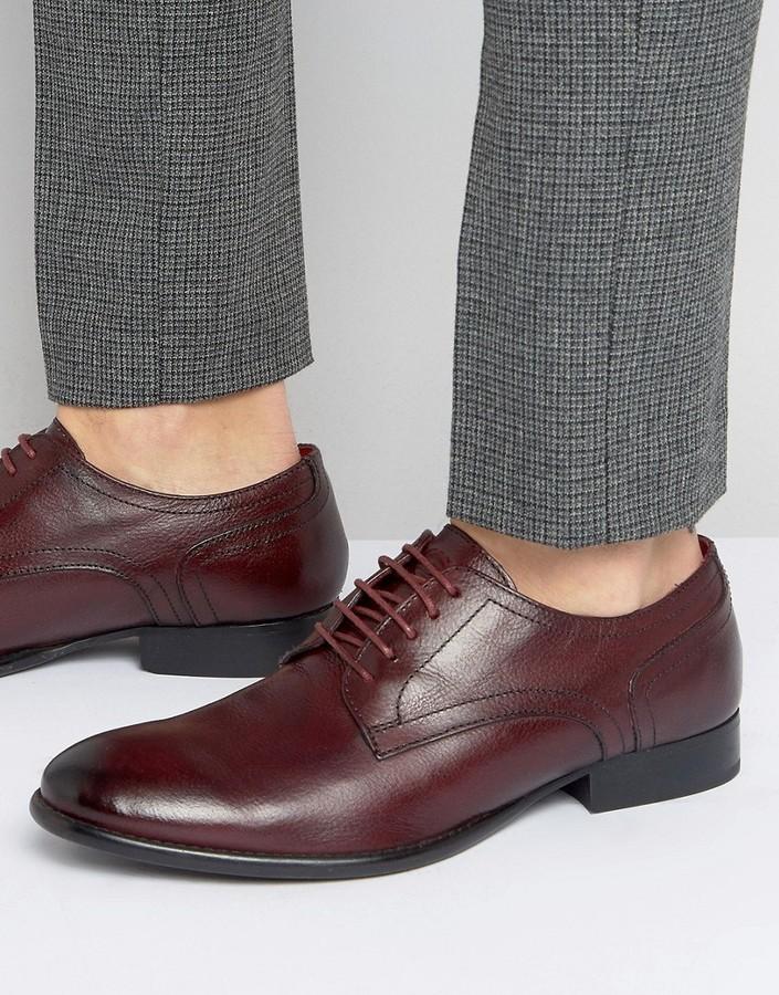 Base London Ford Leather Derby Shoes XojcqvNE