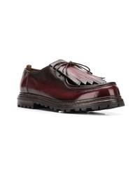Officine Creative Fringed Derby Shoes