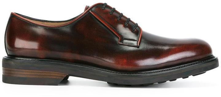 Salvatore FerragamoLeather derby shoes Pchr6LDhk