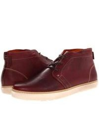 Wolverine Carlos Chukka Lace Up Boots Burgundy