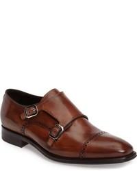 Brooks double monk strap shoe medium 950614
