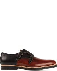 Oxymoron Carmine Monk Shoes