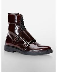 Calvin klein davis double monk strap boot medium 343098
