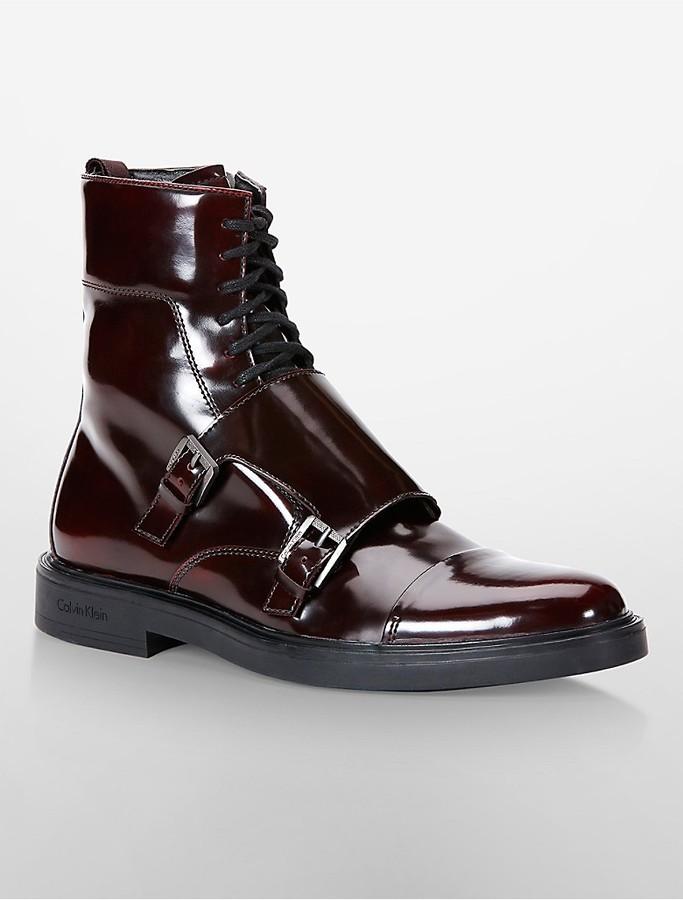 mens monk strap boots