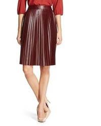 Mossimo Faux Leather A Line Skirt