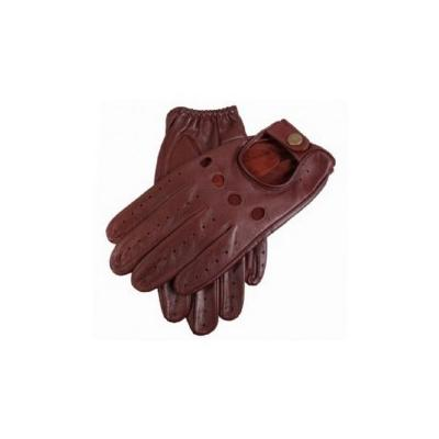 Dents Delta Leather Driving Gloves English Tan