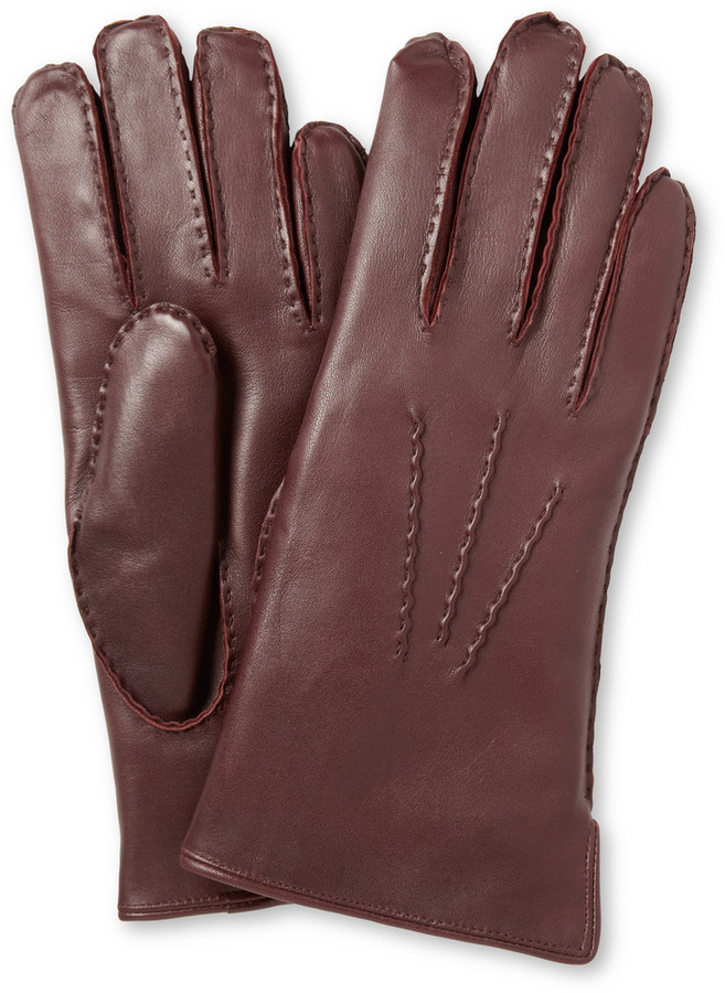 Dents Pembroke Rabbit Lined Leather Gloves