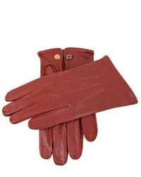 Dents Sandhurst Leather Gloves English Tan