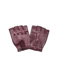Marc by Marc Jacobs Fingerless Leather Gloves