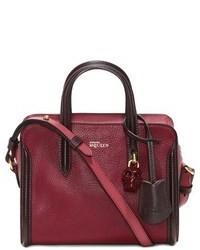 Alexander McQueen Mini Padlock Calfskin Leather Duffel Bag