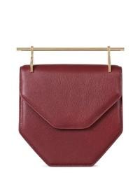 M2MALLETIE R Amor Fati Calfskin Leather Shoulder Bag