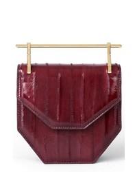 M2MALLETIE R Mini Amor Fati Eelskin Shoulder Bag