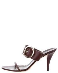 Gucci Embellished Slide Sandals
