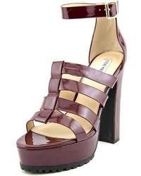 784f8eb6b9b Women's Burgundy Sandals by Steve Madden   Women's Fashion ...