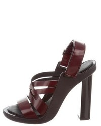 Calvin Klein Collection Multistrap Slingback Sandals