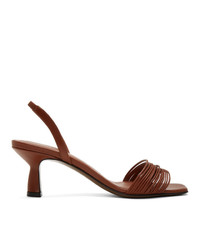 Neous Red Rossi 55 Slingback Heeled Sandals