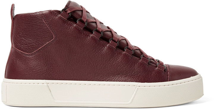 BalenciagaSneakers high Arena leather l6HyvcvTPE