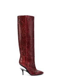 Cut out heel knee high boots medium 7327111